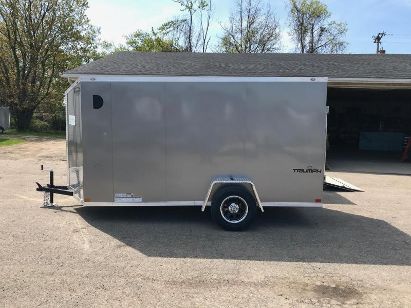 6x12 Ramp Door Formula Enclosed Trailer - FLASH PACKAGE