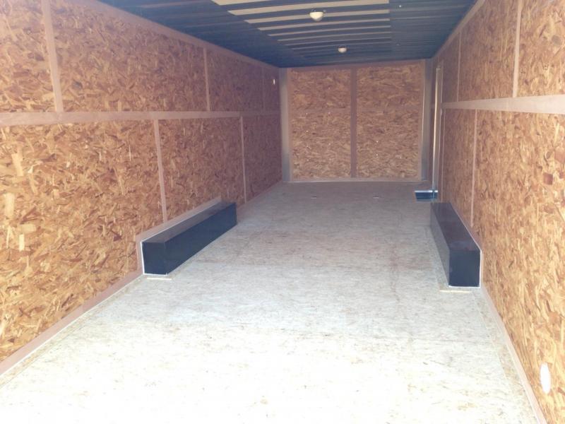8x24 LOOK Enclosed Car Hauler Trailer (10K)