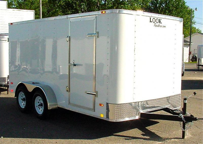 7x12 LOOK Enclosed Trailer w/ Ramp Door