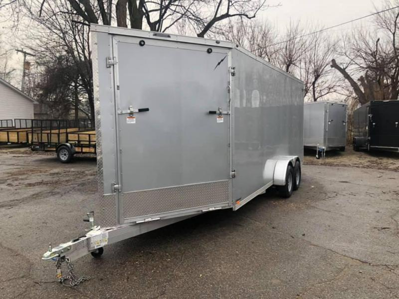 7x29ft 5-place Snow Trailer - All Aluminum