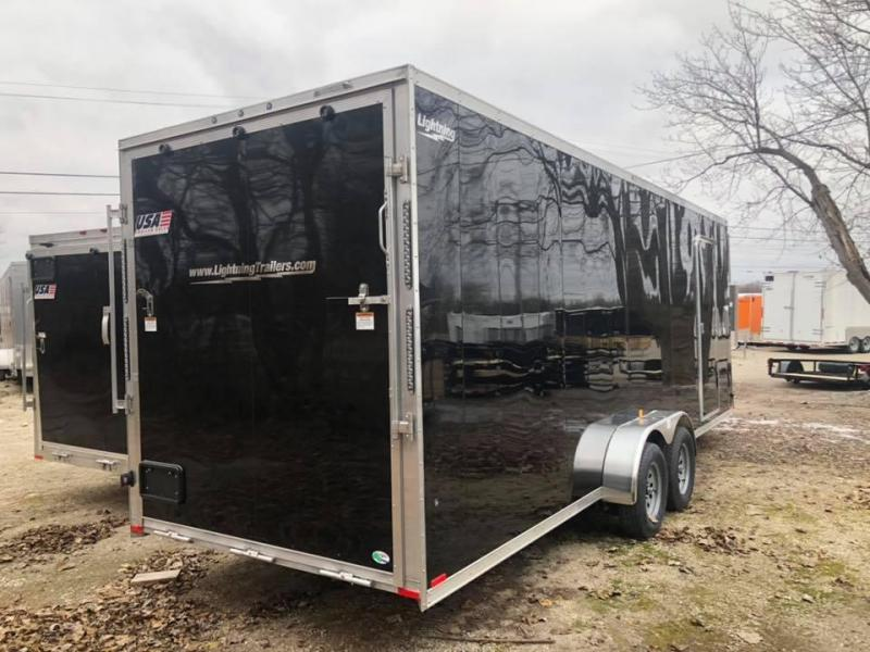 7x27ft 4-place Snow Trailer - 7ft Inside Height - All Aluminum
