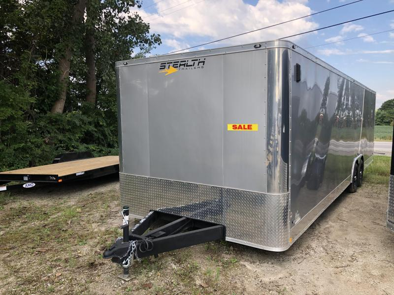 2019 Stealth Trailers 8.5 x 28 Enclosed 10K Car / Racing Trailer