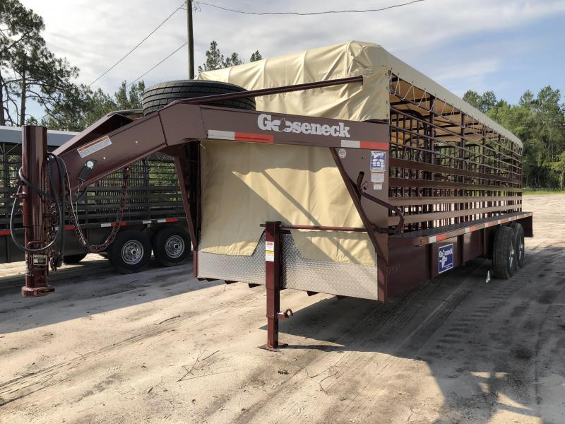 2018 Gooseneck Steel Livestock Trailer in Perkins, GA