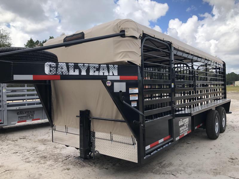 2018 Galyean 20' Livestock Trailer