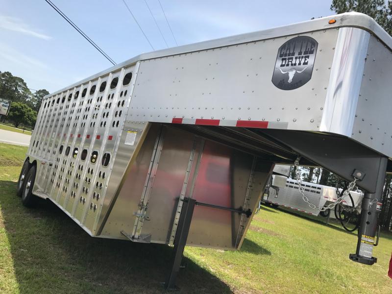 2018 Merritt GN Livestock Trailer