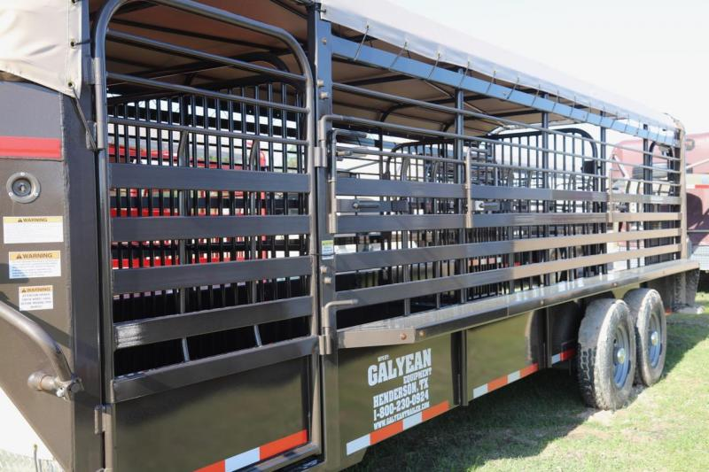 2018 Galyean Livestock Trailer in Savannah, GA