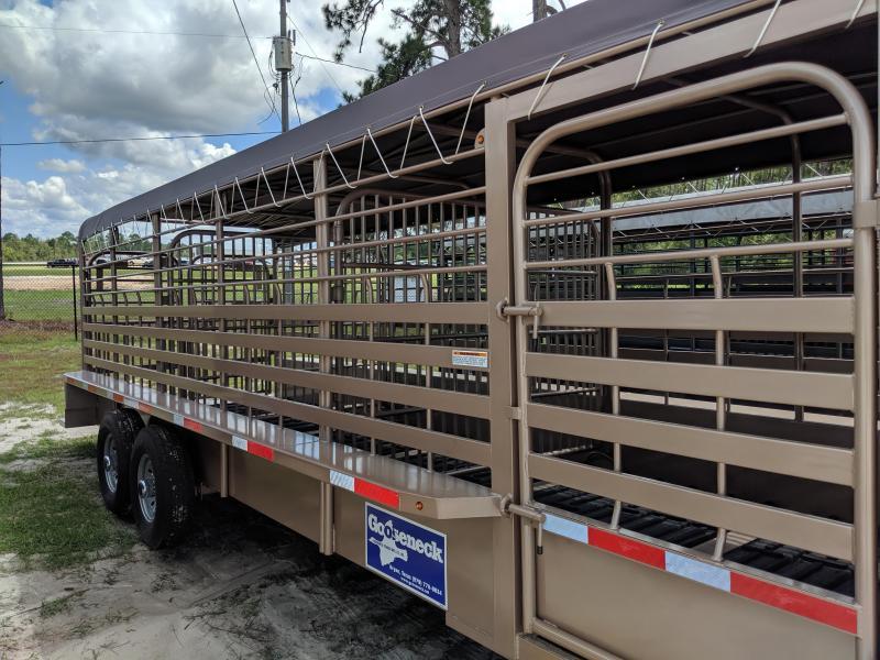 2019 Gooseneck 19 - 24'x6'8 Truck Boxes (Livestock and Dog)