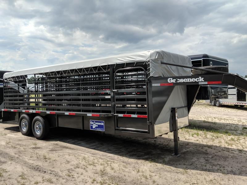 2019 Gooseneck 19-24X6.8 Livestock Trailer