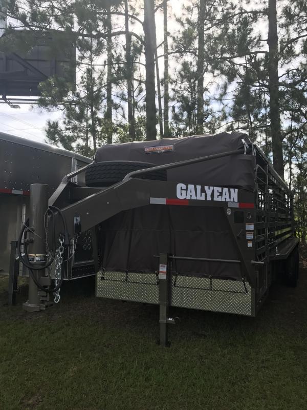 2017 Galyean 24' Horse Trailer