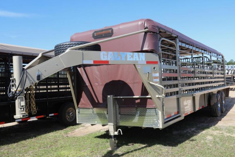 2018 Galyean Livestock Trailer in Perkins, GA