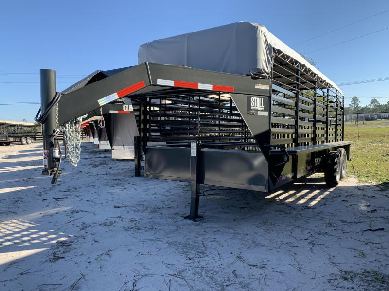 2019 Stoll Trailers Inc. Livestock Trailer in Perkins, GA