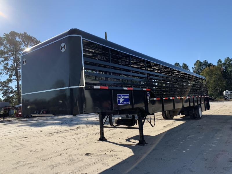 2018 Gooseneck Steel Livestock Trailer in Newington, GA