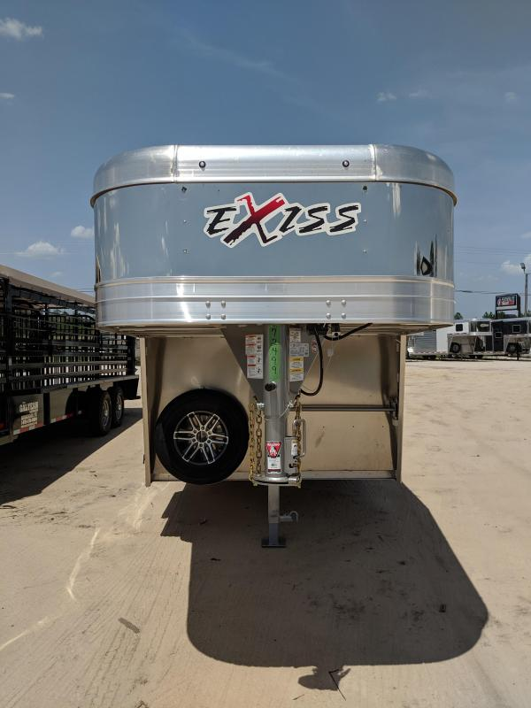 2019 Exiss Trailers STC 7026 LP Livestock Trailer