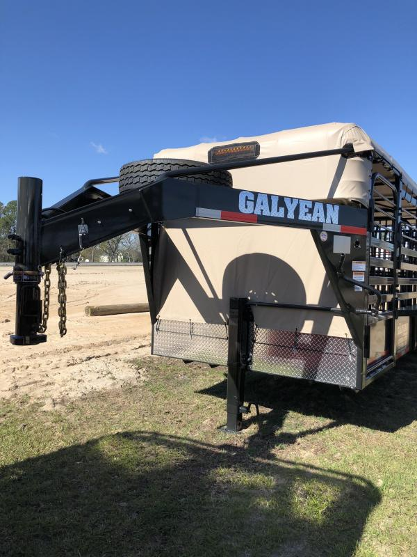 2018 Galyean Cattle Trail Livestock Trailer in Nunez, GA