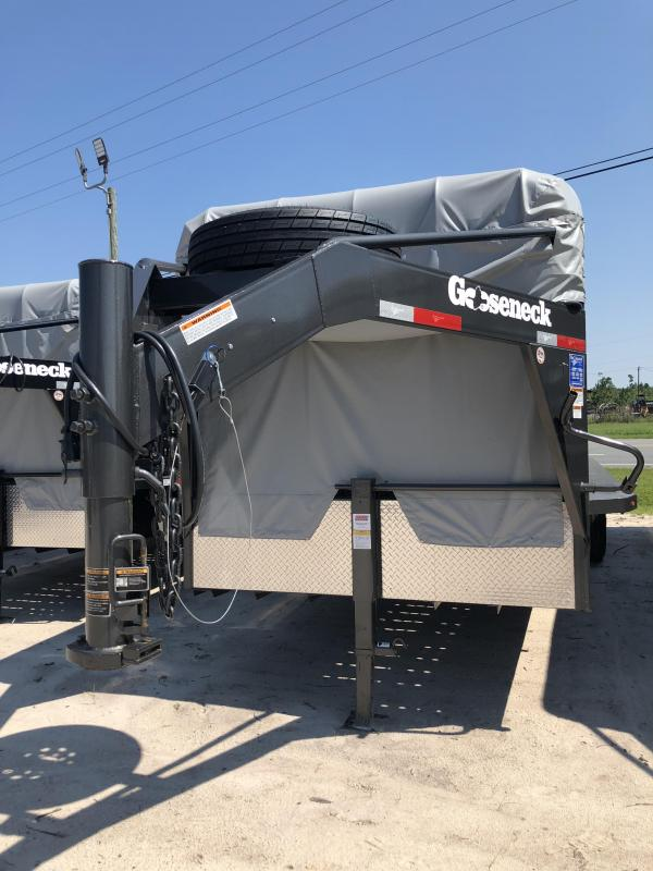 2018 Gooseneck Steel Stock Livestock Trailer in Perkins, GA