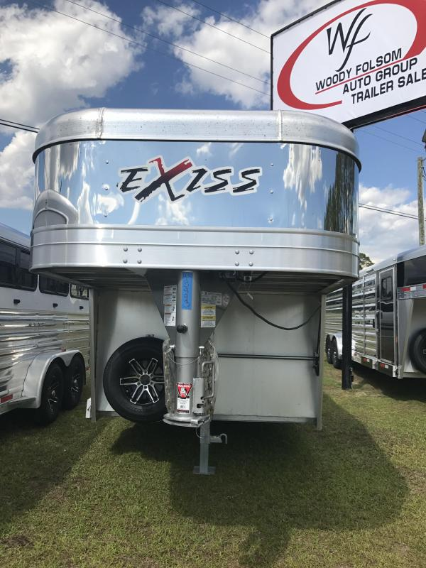 2018 Exiss Exhibitor 7020W Horse Trailer in Bellville, GA
