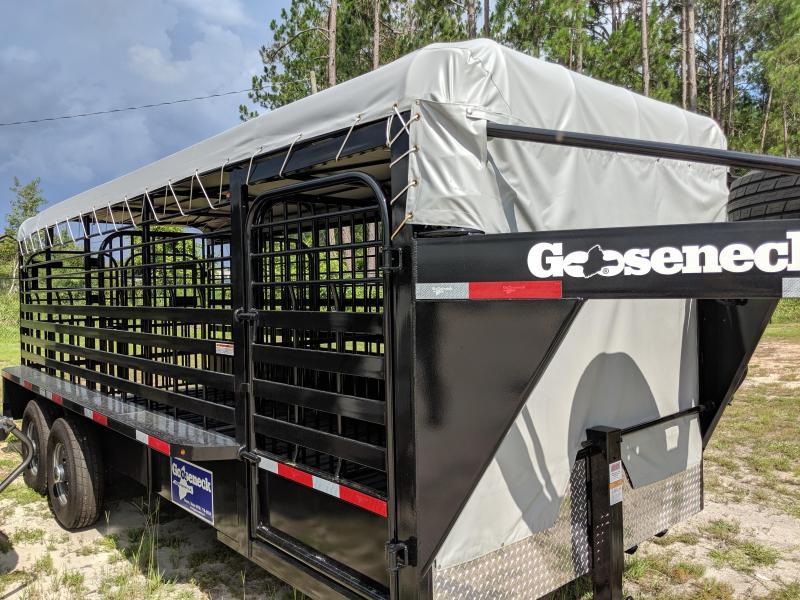 2019 Gooseneck 19-20X6.8 Livestock Trailer