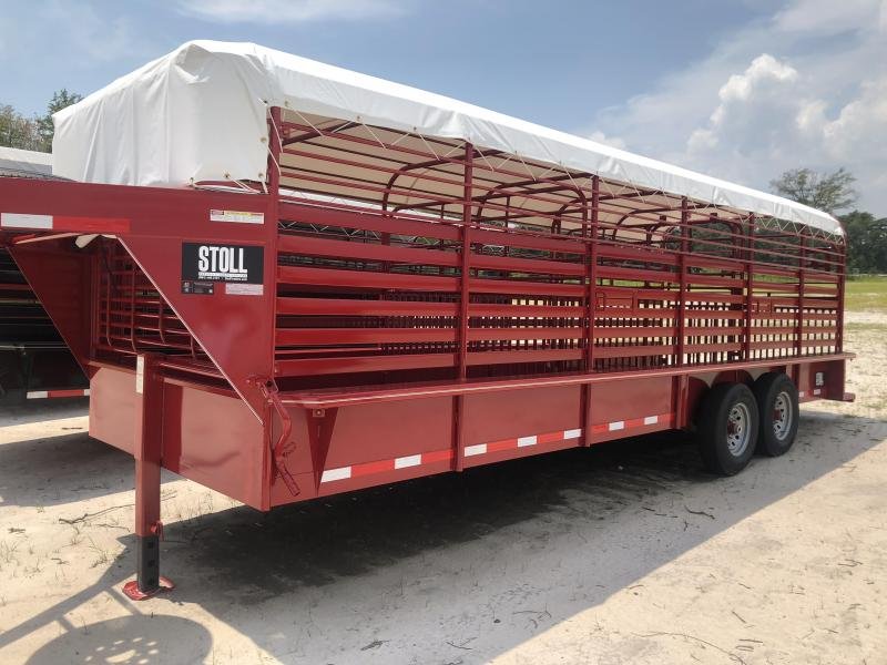 2018 Stoll Trailers Inc. Livestock Trailer in Perkins, GA