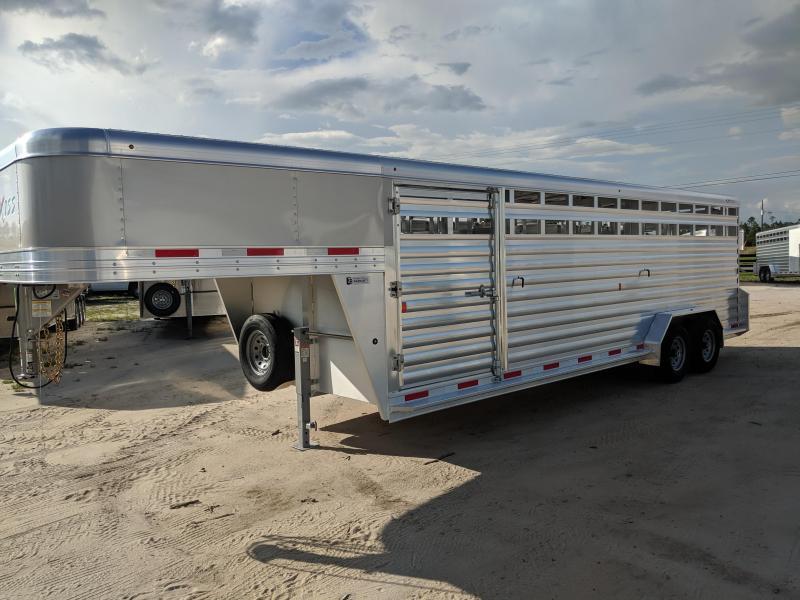 2020 Exiss Trailers STK 7024 Livestock Trailer