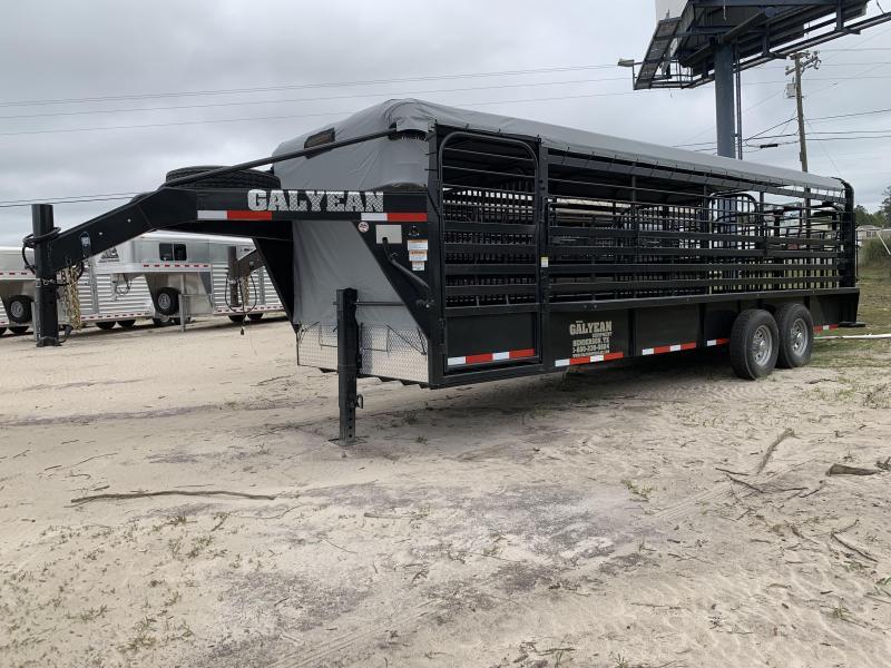 2019 Galyean 24' Livestock Trailer
