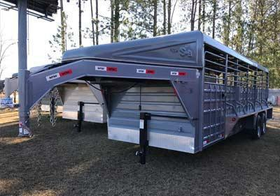 2016 Swift Built 24' Stock Trailer in Nunez, GA