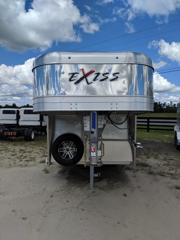 2020 Exiss Trailers Exhibitor 7024 Livestock Trailer