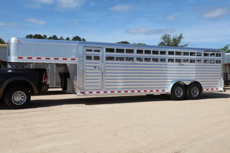 2019 Elite Stock Livestock Trailer in Ellabell, GA