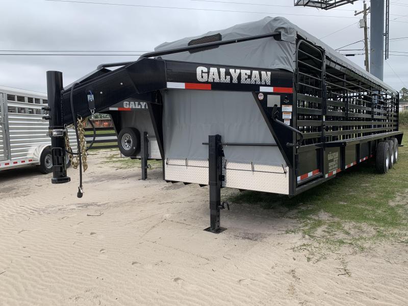 2019 Galyean 32' Livestock Trailer
