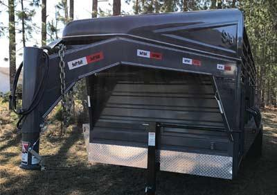 2017 Swift Built Stock Trailer in Offerman, GA