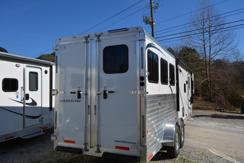 2019 Merhow Trailers 7311RK/S Horse Trailer