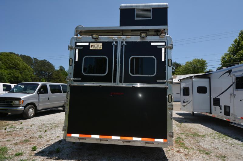 2015 Sooner 4-Horse Double Slide w-Bunks