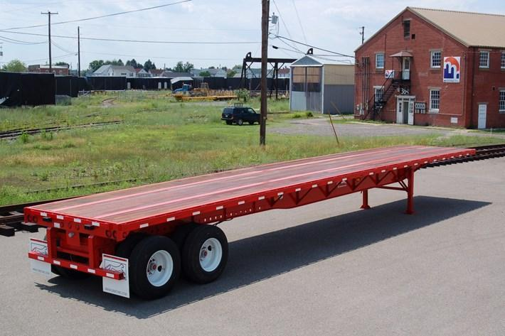 2019 Other Evans 48ft Steel flat Flat Bed