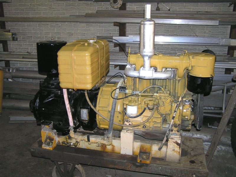 1980 VM Diesel Blower Attachment