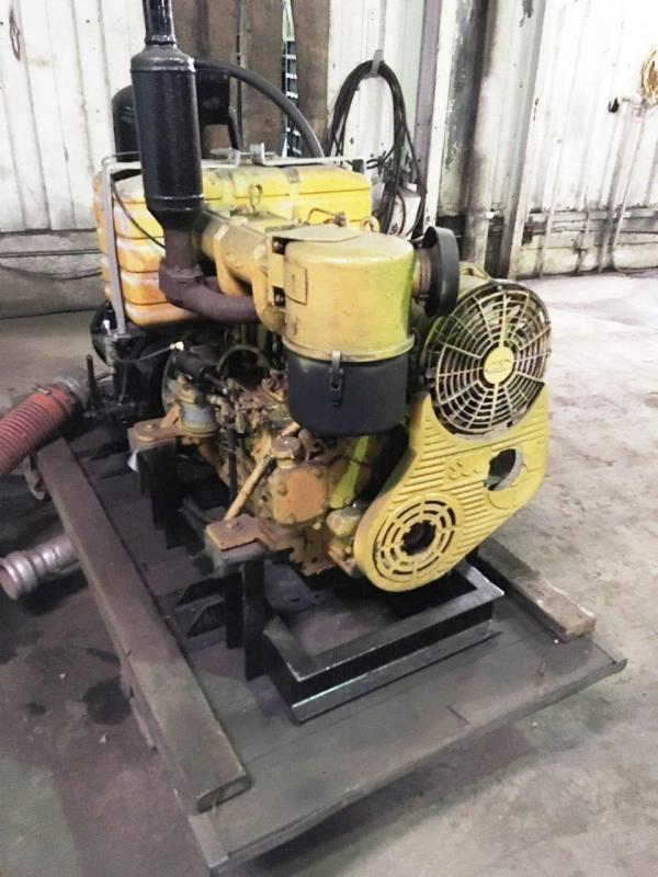 1980 VM Diesel Blower Attachment