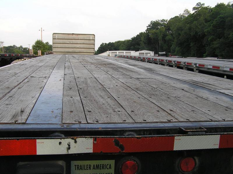 2009 Pitts 48ft Flatbed Semi Trailer