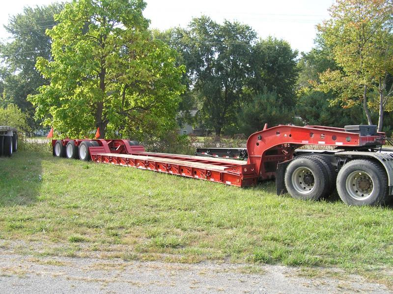 2000 Fontaine 50 ton Low Boy