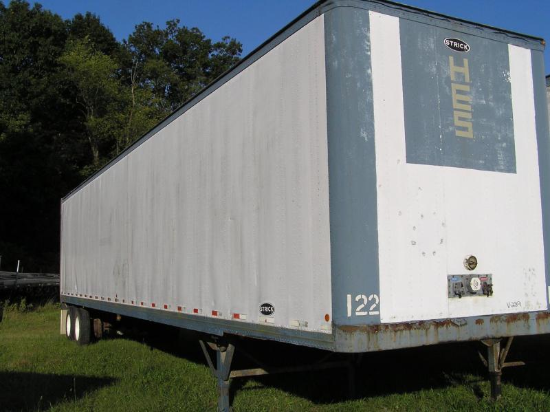 1996 Strick van 48ftx 102 Dry Van