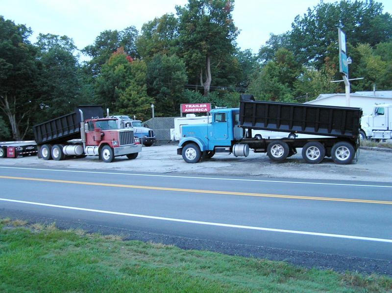 1991 Marmon dump & 1979 General dump Truck