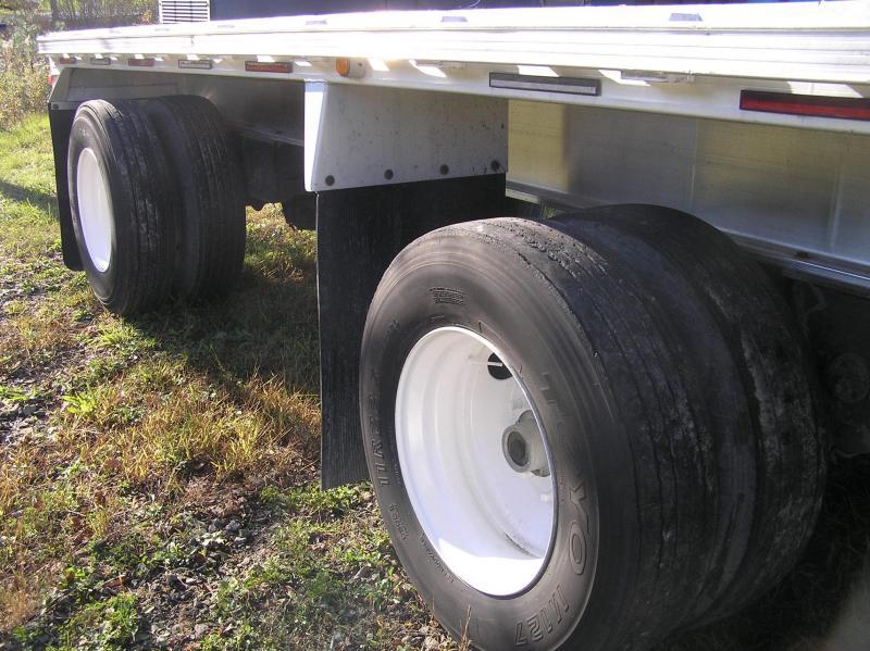 2009 Trailstar flat 48ft trailer aluminum Flat Bed