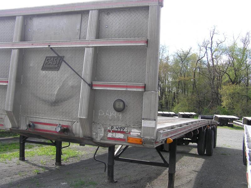 1992 East aluminum flat Flat Bed