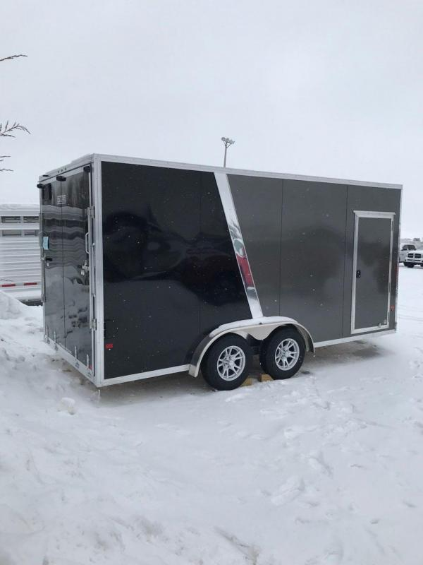 2019 EZ Hauler 7'5 x 16' Enclosed Trailer