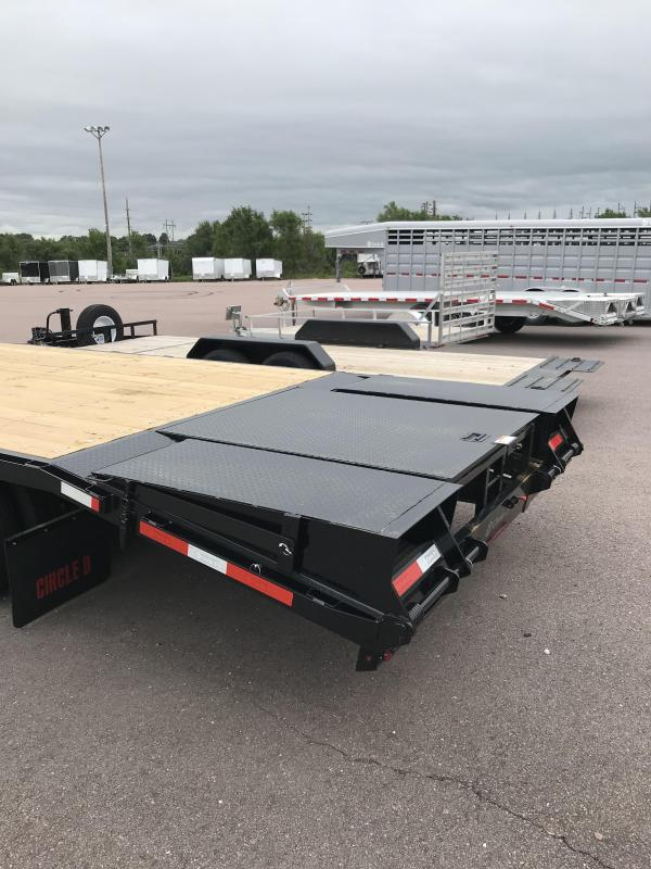 2019 Circle D GN 31' Flatbed Trailer