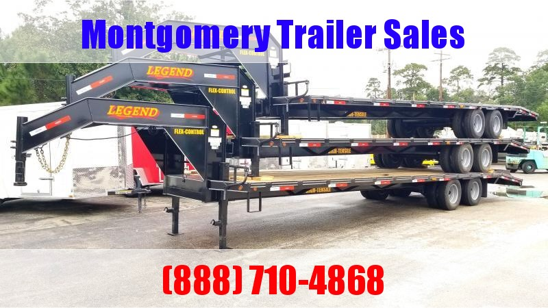 2019 Legend Flatbed Gooseneck Trailers 32' (27'+5') Flatbed Trailer in Ashburn, VA