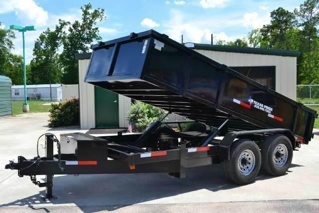 2019 TEXAS PRIDE 7' X 14' Dump Trailer 16K