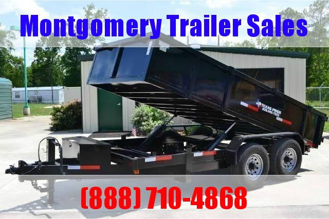 2019 TEXAS PRIDE 7' X 14' Dump Trailer 16K in Ashburn, VA