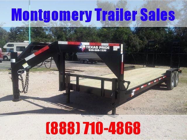 2019 TEXAS PRIDE 24ft. 14K Gooseneck Lowboy Trailer in Ashburn, VA