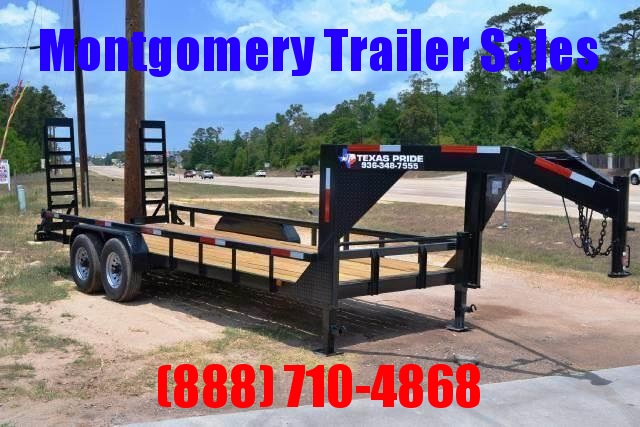 2018 Texas Pride 20ft Gooseneck Low Boy Montgomery