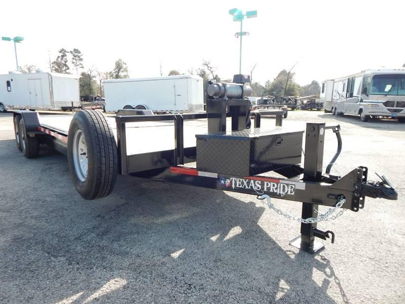 2019 Texas Pride Trailers TILT TRAILER Equipment Trailer