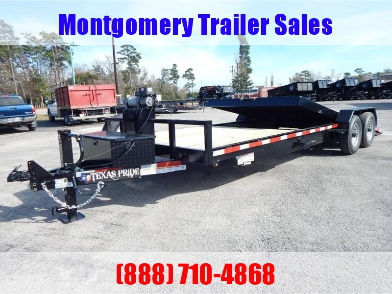 2019 Texas Pride Trailers TILT TRAILER Equipment Trailer in Ashburn, VA