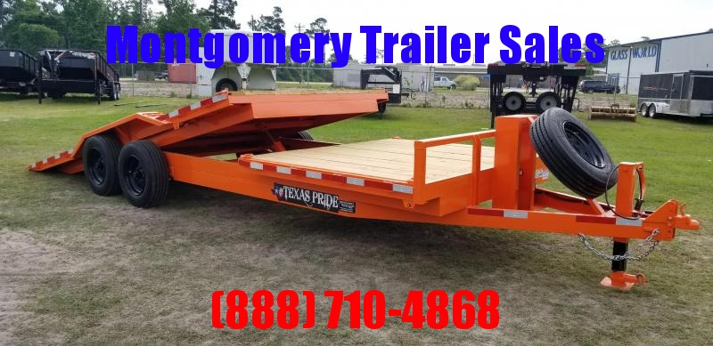 2018 Texas Pride Trailers 817716K TILT Equipment Trailer